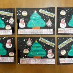 12月カレンダー製作♪