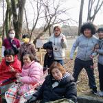 山田池公園「池干し」へ行ってきました。