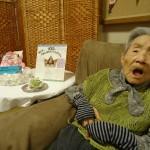 100歳おめでとうございます^^