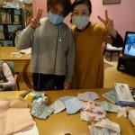 マスク製作開始